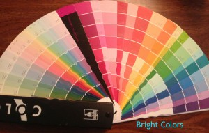 Bright Color Wheel from Davis Paint Company