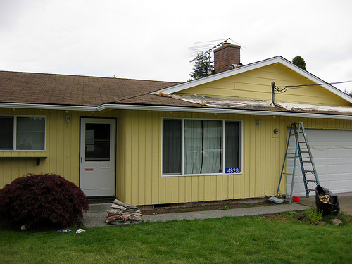 Prep For Exterior House Painting